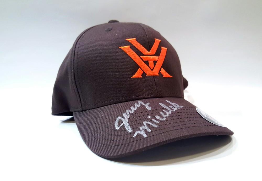 Jerry Miculek signed cap