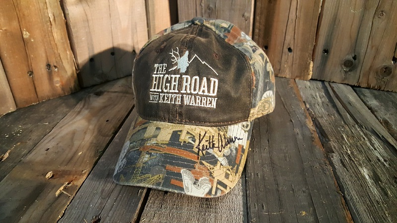 The High Road with Keith Warren Signed Hat