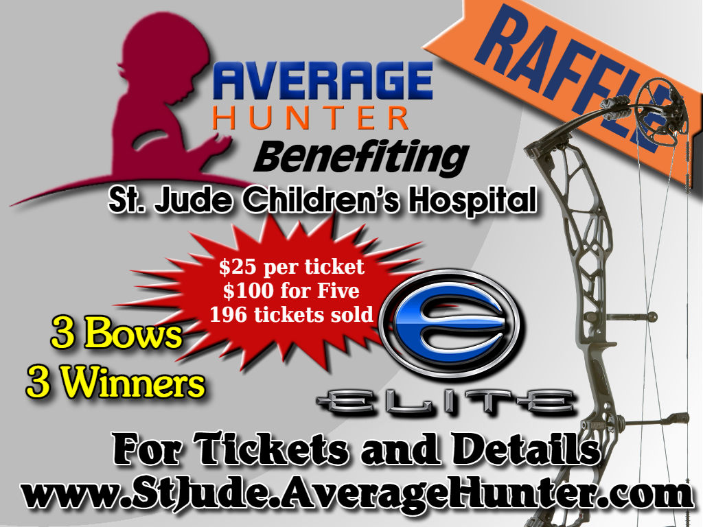 bow raffle for St. Jude