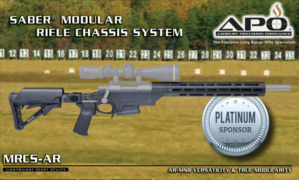 Ashbury Precision Ordnance Mfg SABER MRCS-AR Savage model 10